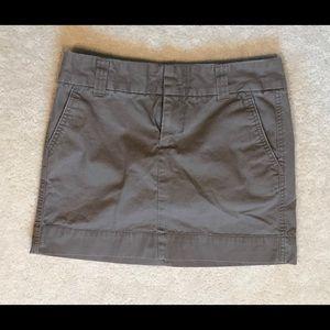 Gap dark khaki skirt